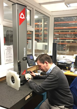 May 2017: Trimos Height Gauge Improves Quality Control of CNC Components for Sentinel Plastics Ltd