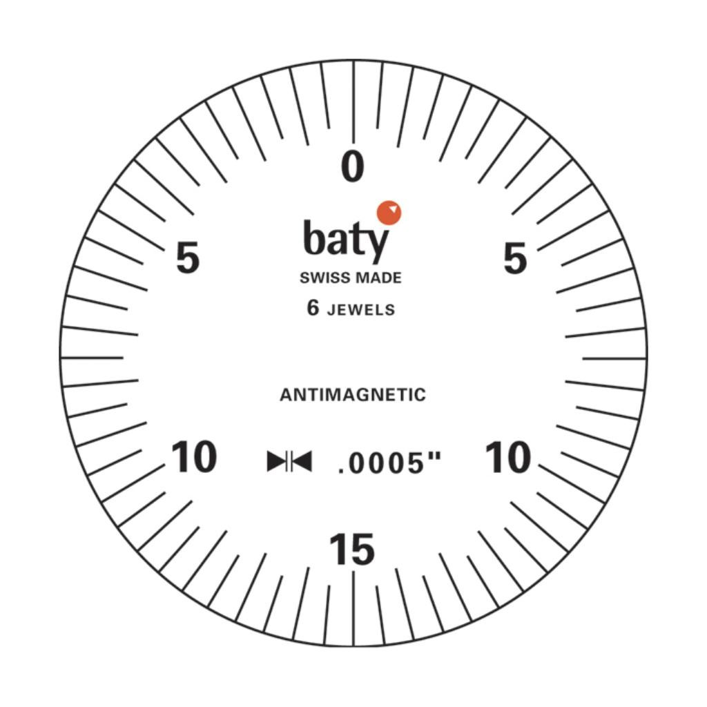 Baty Lever Type Dial Test Indicator - Imperial
