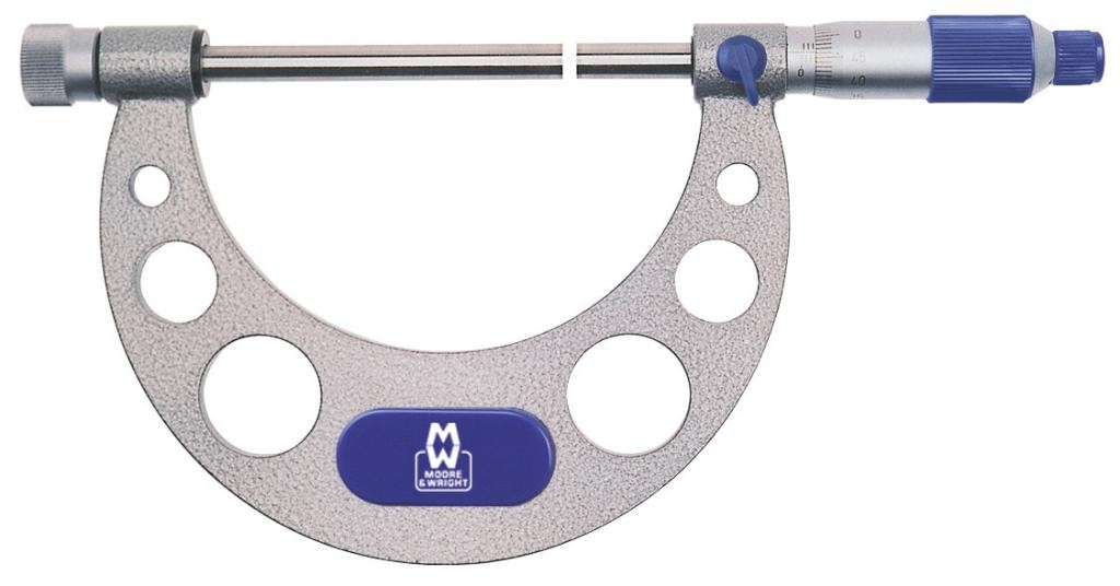 Micrometer with Interchangeable Anvils 217 Series