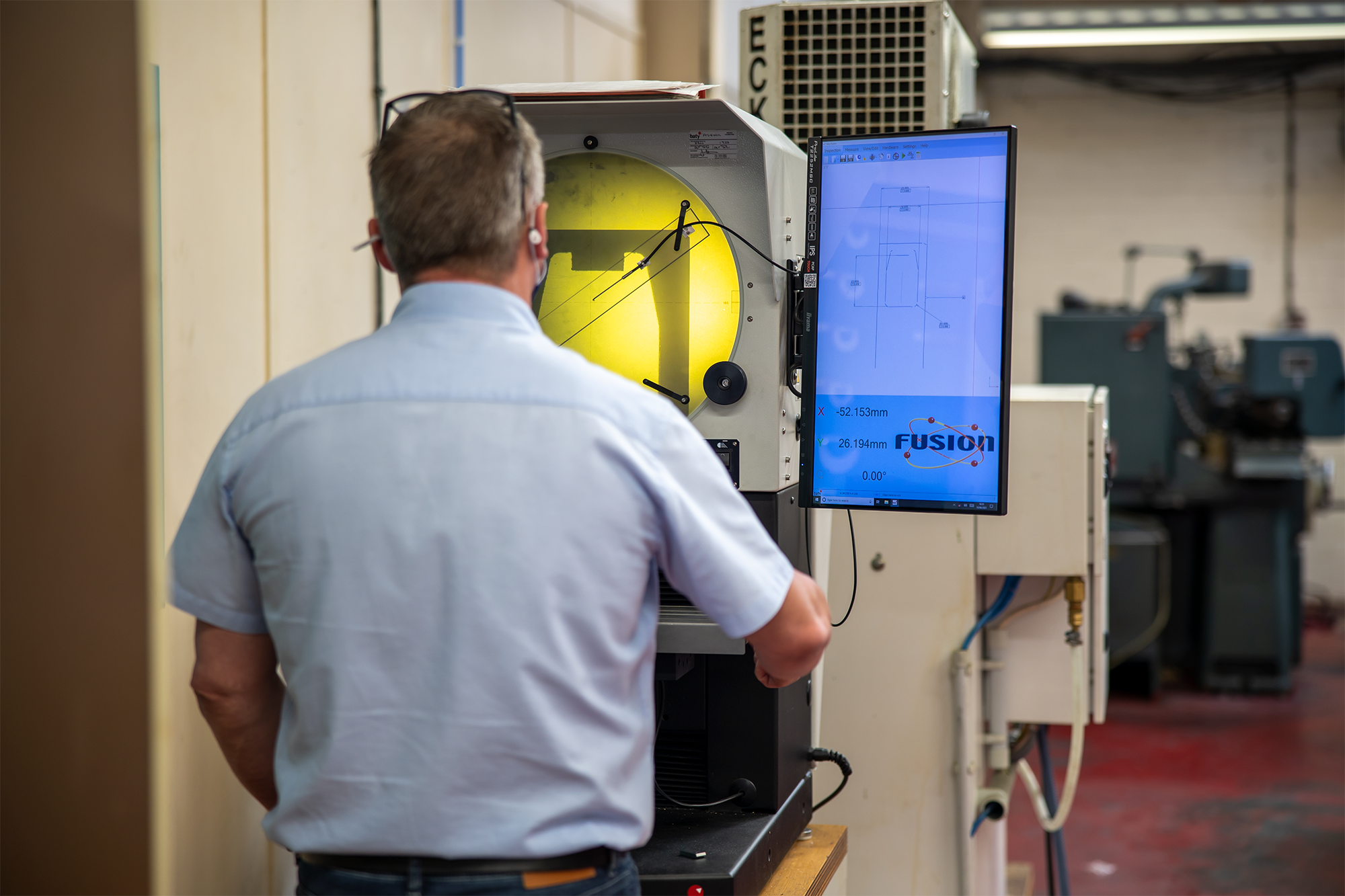 June 2021: Bowers Group Ensures Accuracy of Made in Britain Bore Gauges with Baty Profile Projector