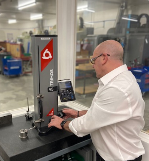 March 2020: AES Precision Ensures High Quality Components with Trimos Height Gauge