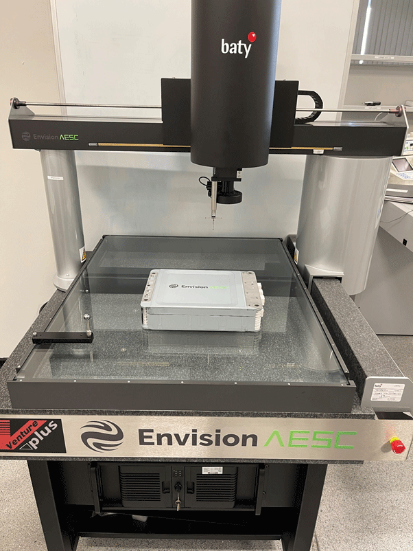 April 2021: Baty Vision System Boosts Battery Cell Inspection for Envision AESC
