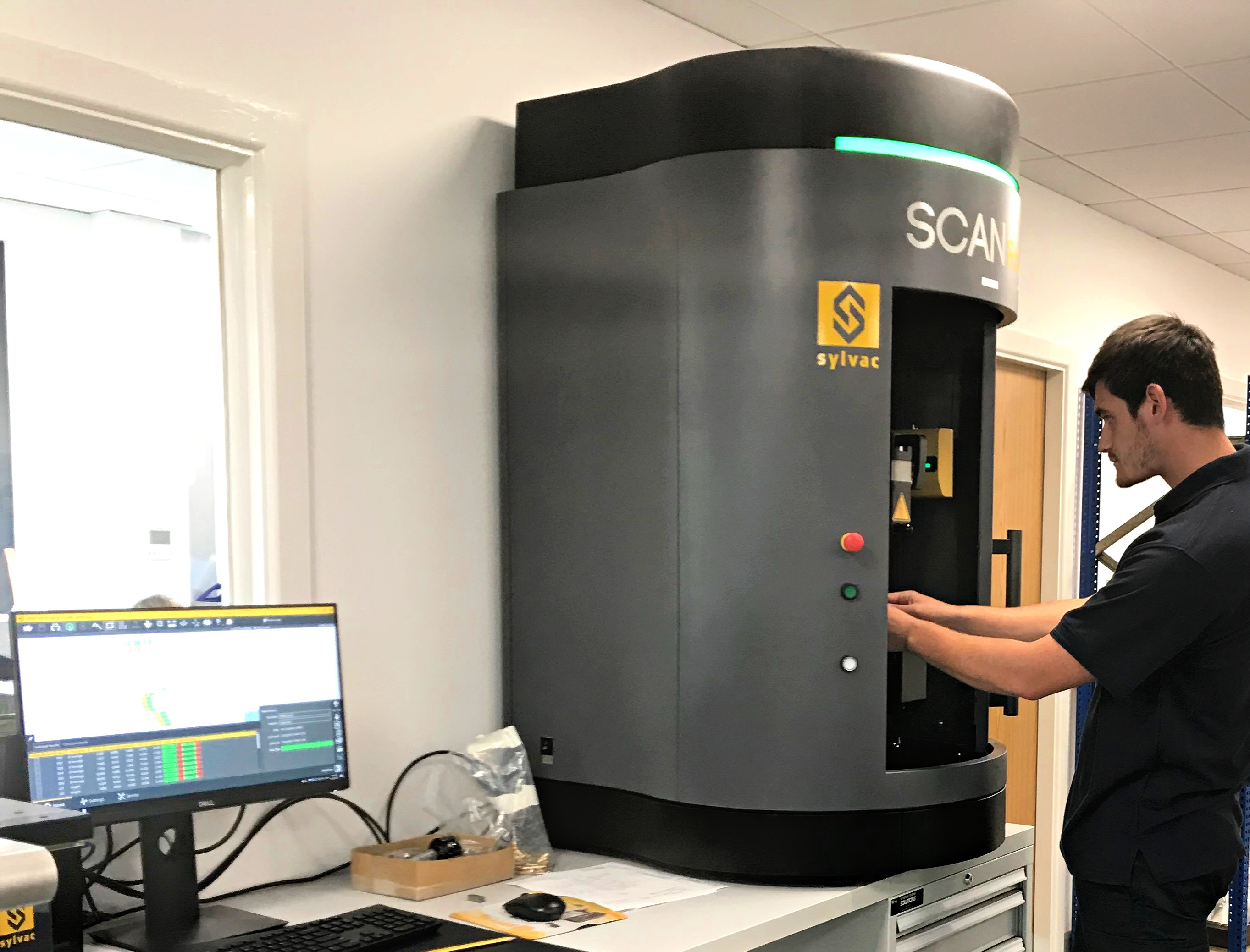 October 2019: Qualiturn Products Ltd Reduces Turned Part Inspection Time to Seconds with Sylvac Scan F60T